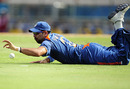 Yuvraj Singh fields the ball, Sri Lanka v India, Group F, World Twenty20, St Lucia, May 11, 2010