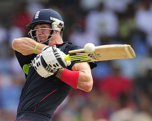 Kevin Pietersen was in imperious mood as he led England to the finals with an unbeaten 42 from 26 balls, England v Sri Lanka, World Twenty20, 1st Semi-Final, Gros Islet, May 13, 2010