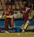 Stafanie Taylor and Cordel Jack put on 41 for the second wicket to keep West Indies in the hunt, West Indies Women v New Zealand Women, 2nd semi-final, Women's World Twenty20, St Lucia