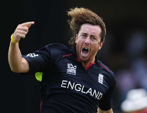 Ryan Sidebottom roared with joy at his early dismissal of Shane Watson