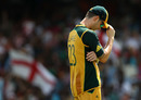 Michael Clarke was left searching for options during a 111-run second-wicket partnership