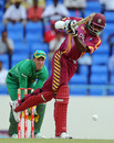 Chris Gayle managed just 14 as West Indies stuttered in their run-chase