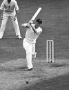 Graeme Pollock drives on his way to 125, England v South Africa, 2nd Test, Trent Bridge, 1st day, August 5, 1965