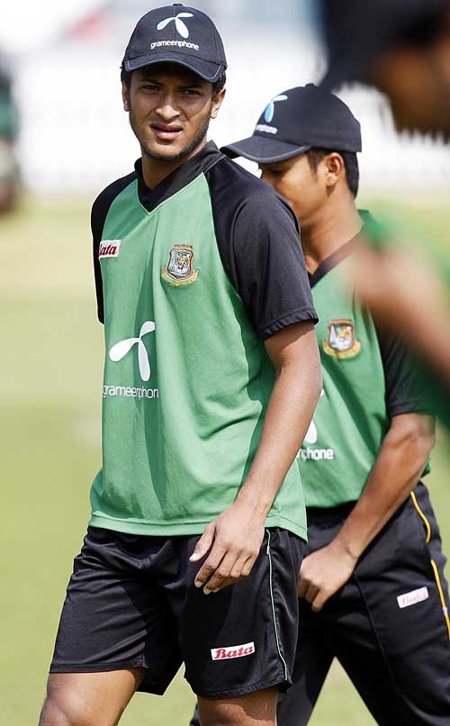 Bangladesh captain Shakib Al Hasan has recovered from chicken pox