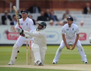 Tamim Iqbal took the attack to Graeme Swann during his hundred, England v Bangladesh, 1st Test, Lord's, May 30, 2010