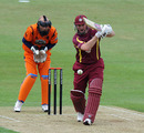David Sales made 62 from 58 balls at the top of the order for Northamptonshire, Northamptonshire v Netherlands, Clydesdale Bank 40, Northampton, May 31, 2010