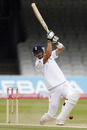 Kevin Pietersen hurried England's victory with an unbeaten 10 from 13 balls, England v Bangladesh, 1st Test, Lord's, May 31, 2010