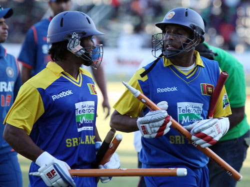 Thilan Samaraweera and Jeevan Mendis  added 55 to close out the match
