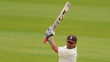 Usman Afzaal made a half-century to delay Leicestershire's victory