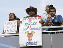 Indian fans show their support, England v India, Group E, World Twenty20 2009, Lord's, June 14, 2009