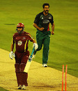 Nadeem Malik, who grabbed four wickets, celebrates the fall of Andrew Hall, Northamptonshire v Leicestershire, Friends Provident T20, Northampton, June 8, 2010