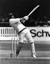 Gordon Greenidge goes for a mighty pull