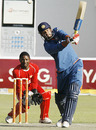 Yusuf Pathan goes over the top, Zimbabwe v India, 1st Twenty20, Harare, June 12, 2010