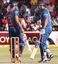 Suresh Raina and M Vijay added 79 for the second wicket