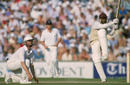 Gordon Greenidge essays a violent pull, July 1, 1998