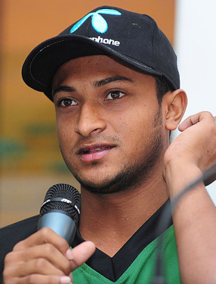 Shakib Al Hasan looks ahead to the Asia Cup, Dambulla, June 14, 2010