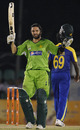 Shahid Afridi reaches one of his best centuries, Sri Lanka v Pakistan, Asia Cup, Dambulla, June 15, 2010