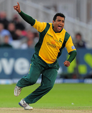 Samit Patel took 3 for 26 against Lancashire, Nottinghamshire v Lancashire, Friends Provident t20, Trent Bridge, June 15, 2010