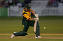 Matthew Wood ended unbeaten on 51 to help Nottinghamshire to victory, Derbyshire v Nottinghamshire, Friends Provident t20, Derby