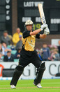 Jonathan Trott made 72 off 54 balls to take Warwickshire to a nine-wicket win