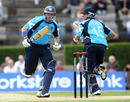 Kyle Coetzer and Gavin Hamilton added 86 for the second wicket, Scotland v England, Only ODI, Edinburgh, June 19, 2010