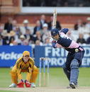 Owais Shah calmly anchored  the Middlesex innings
