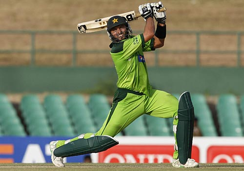 Shahid Afridi Broke The Record For Most Sixes In ODIs