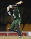 Junaid Siddique cuts off the back foot, Bangladesh v Pakistan, 5th ODI, Asia Cup, Dambulla, June 21, 2010