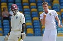 Morne Morkel trapped Dale Richards in front, West Indies v South Africa, 3rd Test, Barbados, 1st day, June 26, 2010