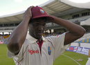 Brandon Bess gets his West Indies Test cap, West Indies v South Africa, 3rd Test, Barbados, 1st day, June 26, 2010