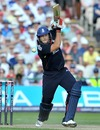 Tim Bresnan guided a nervous England over the line and to series success, England v Australia, 3rd ODI, Old Trafford, June 27, 2010