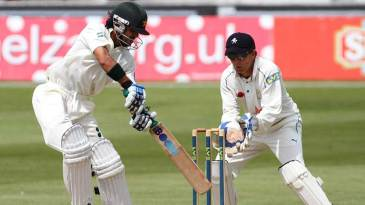 Fawad Alam made 68 on the final day against Kent