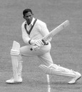 Basil Butcher bats, Middlesex v West Indians, 1st day, Lord's, July 20, 1963