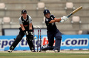 Danielle Hazell was bowled by Lucy Doolan as England slipped to a narrow defeat, England Women v New Zealand Women, 2nd T20I, Rose Bowl, July 1, 2010