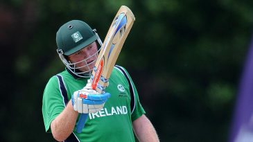 Andrew Poynter reaches his fifty