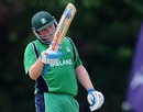 Andrew Poynter reaches his fifty, Afghanistan v Ireland, ICC WCL Division 1, Rotterdam, July 3 2010