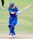 Kosala Kulasekara pulls during his unbeaten 44, Australia A v Sri Lanka A, 1st unofficial ODI, Townsville, July 4, 2010