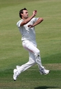 Sean Ervine picked up the wicket of Geraint Jones on the first morning