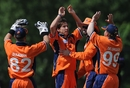 Mark Jonkman picked up the wicket of Hiral Patel early on, Netherlands v Canada, ICC WCL Division 1, Rotterdam, July 5 2010