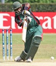 Collins Obuya top scored for Kenya with 60, Afghanistan v Kenya, ICC WCL Division 1, Amstelveen, July 5, 2010
