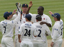 Maurice Chambers claimed six wickets to help restrict Nottinghamshire to 180, Essex v Nottinghamshire, County Championship, Division One, Chelmsford, July 6, 2010