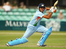 Manish Pandey drives through the covers
