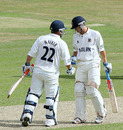 Jaik Mickleburgh and Matt Walker put on 106 for the third wicket, Essex v Nottinghamshire, County Championship, Division One, Chelmsford, July 6, 2010