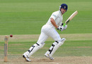Sean Ervine punished Kent with a swift unbeaten half-century