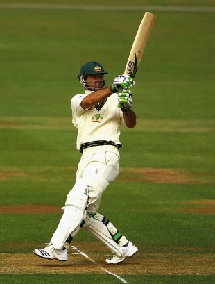 Ricky Ponting was in positive form after Australia's poor start, Derbyshire v Australians, Tour match, Derby, July 8, 2010