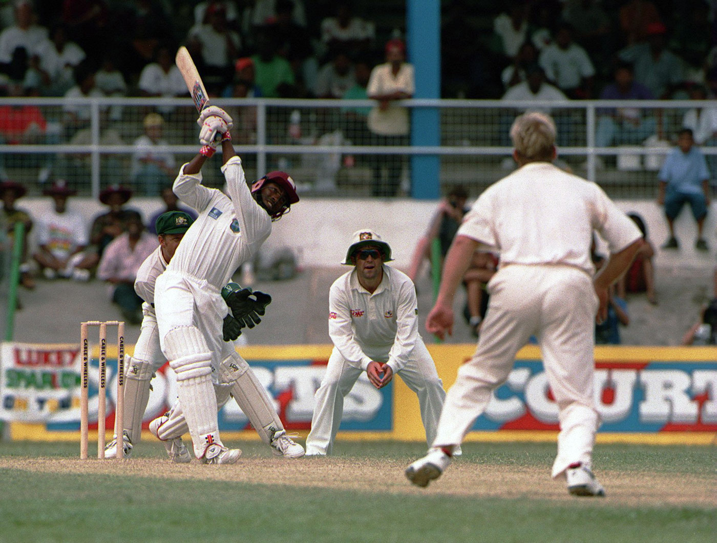 Brian Lara outperformed his peers by 45% and his team-mates by nearly 67%