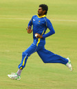 Isuru Udana took three wickets but was expensive at the death, Australia A v Sri Lanka A, 3rd unofficial ODI, Brisbane, July 10, 2010