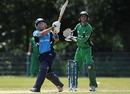 Fraser Watts pulls during his 98, Ireland v Scotland, ICC World Cricket League Division 1 final, Amstelveen, July 10, 2010