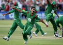 Shafiul Islam took the final wicket to inspire scenes of wild celebration for Bangladesh