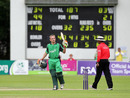William Porterfield's century led Ireland to an easy victory